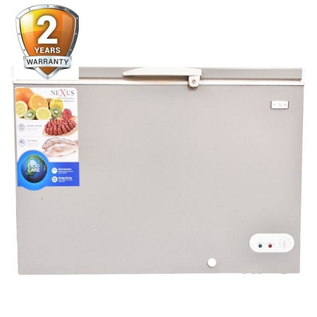 Nexus NX 265E Chest Freezer - 200 Liters - Grey