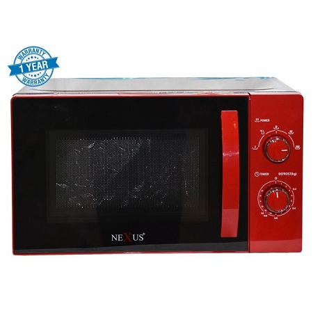 Nexus NXK-9201R, Microwave Oven. 20 Ltr - Red