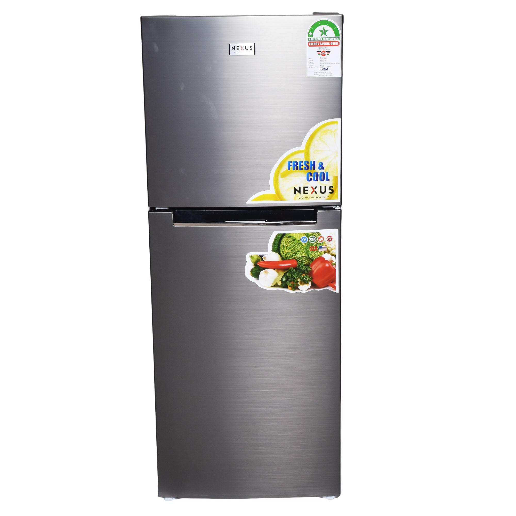 Nexus NX-450NFK, Refrigerator, 344Litres - Inox