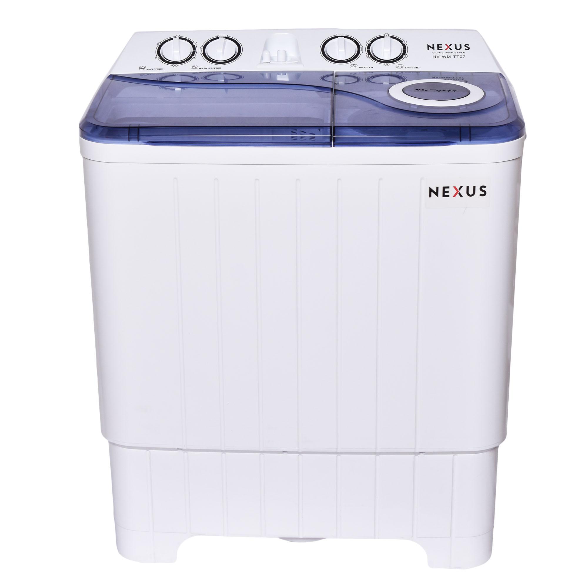 Nexus NX-WM-TT07 - 7KG TWIN TUB WASHING MACHINE