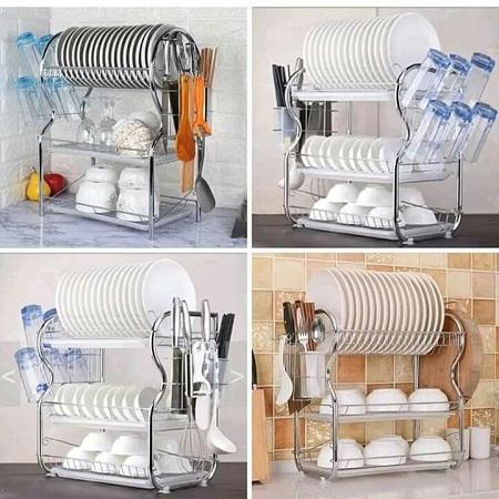 3 tier dish rack