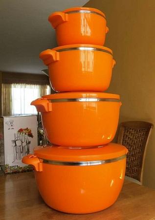 4 pieces hot pots