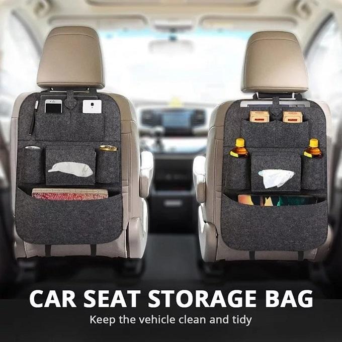 Multifunction Car Seat Organizer-Grey