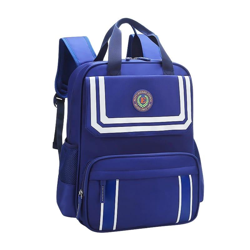 School Backpack Bag - Blue