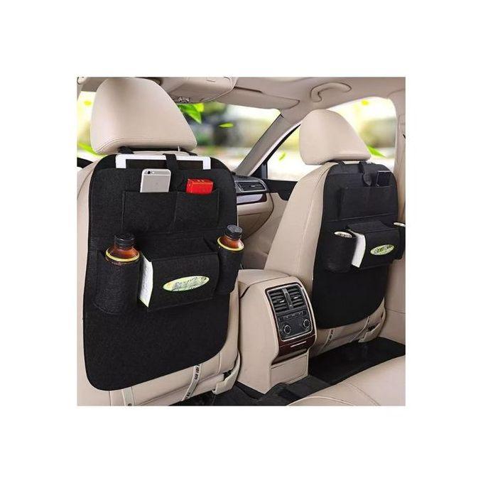 Multifunction Car Seat Organizer-Black