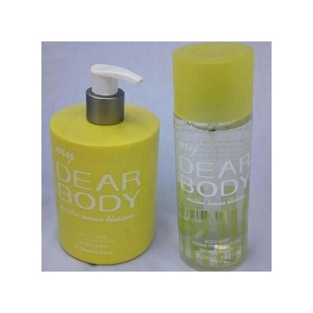 Dear Body Dear Body Malibu Lemon Blossom 2 in 1 Body mist and lotion pump