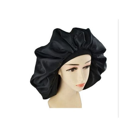 Fashion Satin Silk hair Bonnet Sleep Cap -Extra large