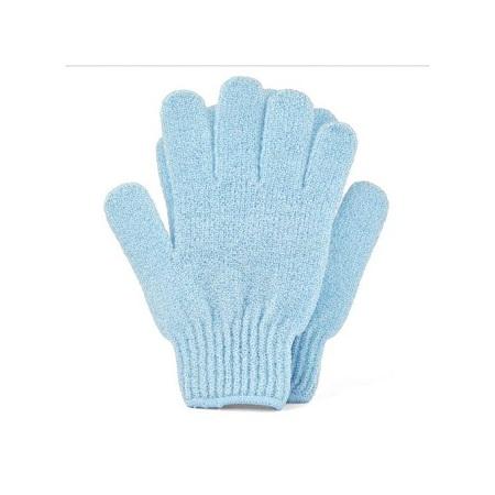 Femme Organics Exfoliating Gloves for Body Scrub - Blue/Pink.....