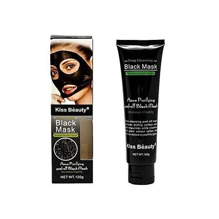 Kiss Beauty Kiss Beauty Peel Off Black Facial Mask 50ml