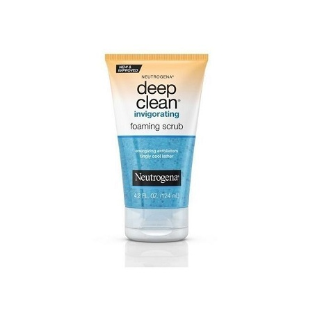 Neutrogena Deep Clean Invigorating Foaming Scrub - 124ml.