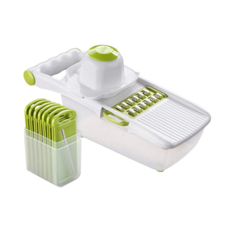Mandoline Slicer Vegetable Cutter With 8 Pieces Stainless Steel Blade
