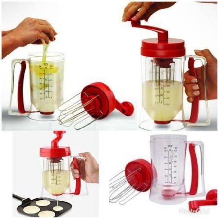 Manual Pancake machine and cake batter mix