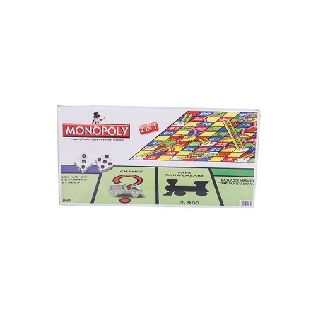 Monopoly Board Game And Snake And Ladder