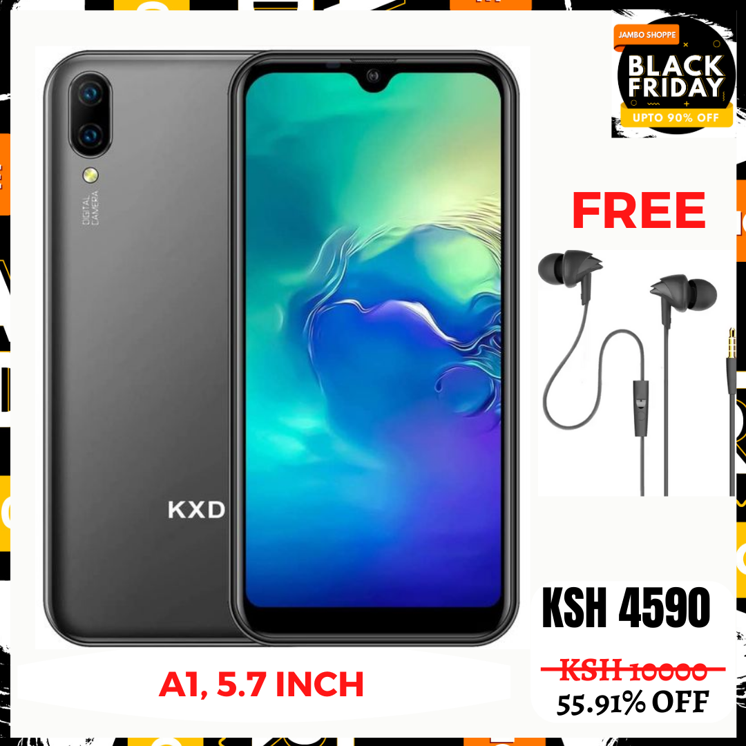 A1, 5.7inch, 1GB+ 16GB, 8MP+0.3MP+5MP Selfie,Android 8.1, Dual Sim - Get 1000 Extra Off Code