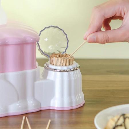 2 in 1 Serviette, toothpick holder