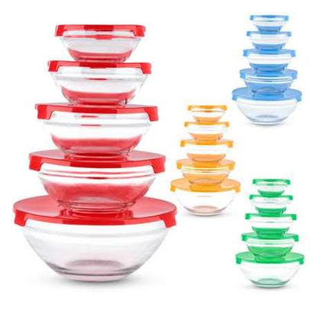 5pc glass bowls