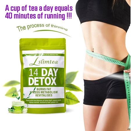 SlimTea Slimming Tea Flat Tummy Tea Weight Lose Detox