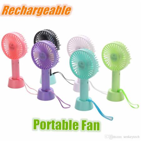 Mini portable fan with handle model no N9