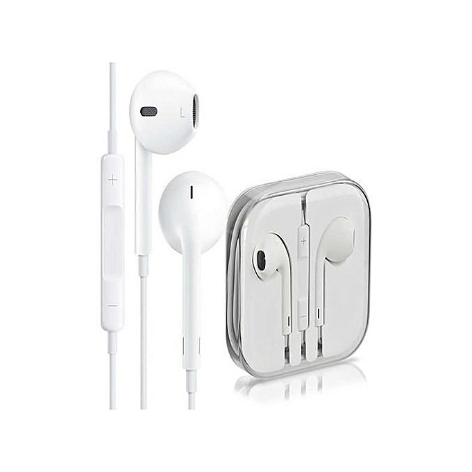 Generic iPhone Earphones - White
