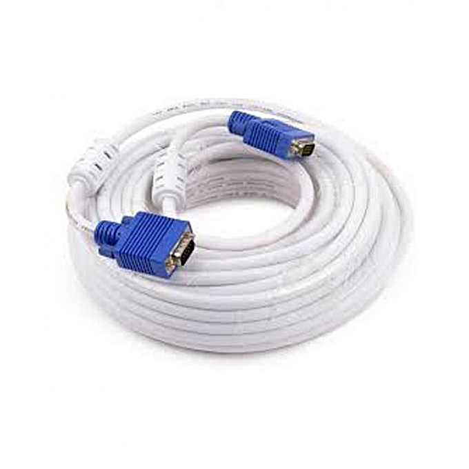 Generic VGA Cable - 20M - White