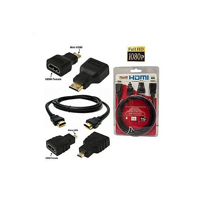 Generic 3 in 1 HDMI Cable