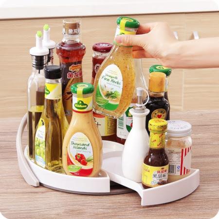 Oil Salt And Spice Tray Organizer
