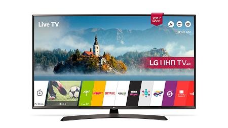 43 Inch LG ULTRA HD 4K TV