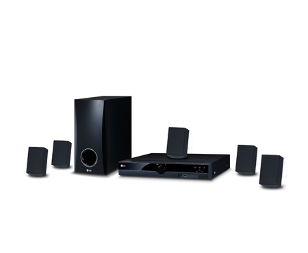 LG 300W DVD Home Theater System