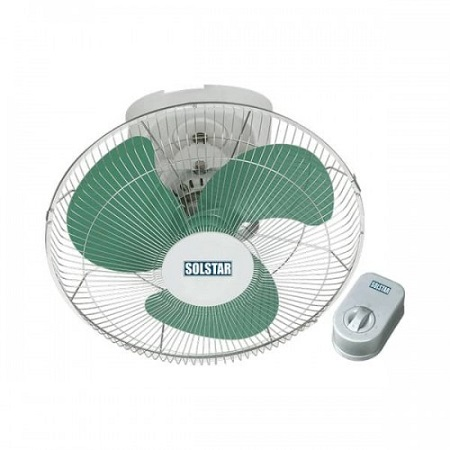 Solstar Orbit Fan (16″)-Fb 1661-Wh Ss