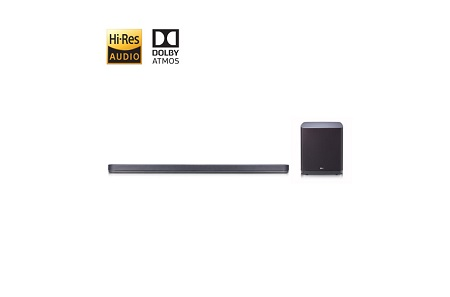 5.1.2 ch High Resolution Audio Sound Bar with Dolby Atmosphere