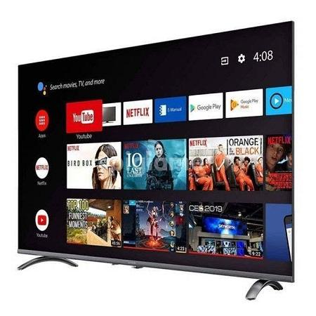 Syinix 65 Inch 4K ULTRA HD ANDROID TV, CHROMECAST, VOICE SEARCH, NETFLIX 65F1S-BLACK