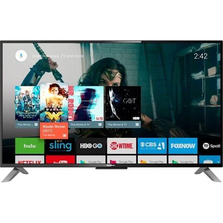 Syinix 75″ FRAMELESS 4K ULTRA HD ANDROID TV, NETFLIX, YOUTUBE 75A1S