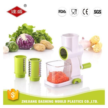 Generic 3 Blade Rotary Food Carrot Vegetable Cheese Grater