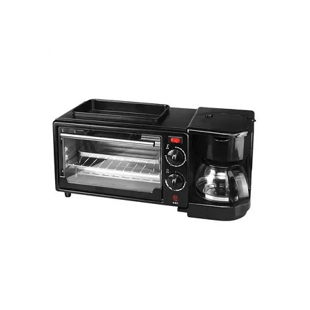 3 IN 1 MULTI FUNCTION BREAKFAST MAKER MACHINE WITH GRILL