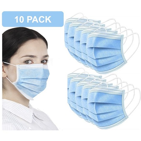 Surgical Face Masks - 10 Pieces