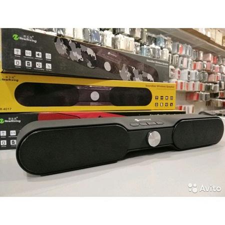 NR-4017 Home Theater TV Soundbar Bluetooth Sound Bar Speaker -black And Grey