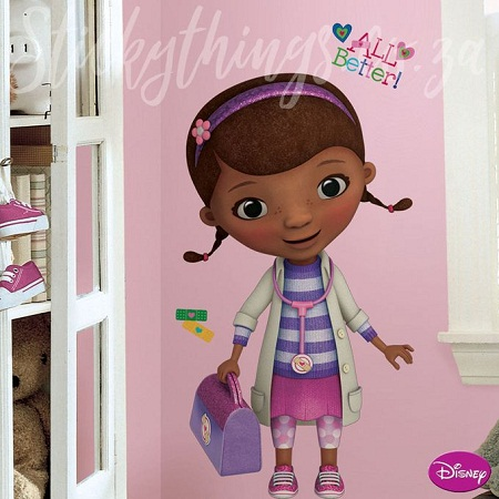 Doc McStuffins Desk/Bed & Wall Stickers