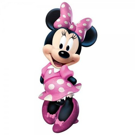 Minnie Desk/Bed & Wall Stickers
