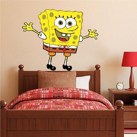 Spongebob Wall/Desk/Bed & Wall Stickers
