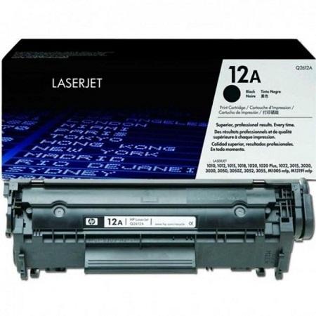 12A Q2612A LaserJet Toner - BLACK
