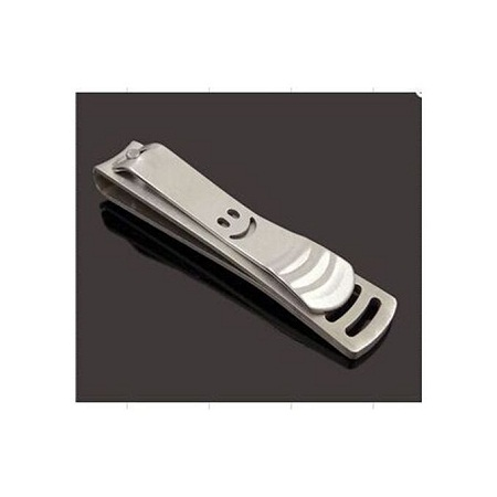 Nail Clipper - Cutter Trimmer Manicure Nail Art - Silver.