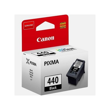 PG-440 Black Ink Cartridge - Black
