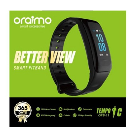 Tempo C OFB-11 Smart Fitband HD Colour Screen