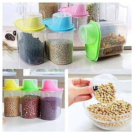 4 pieces cereal dispensers 2 L