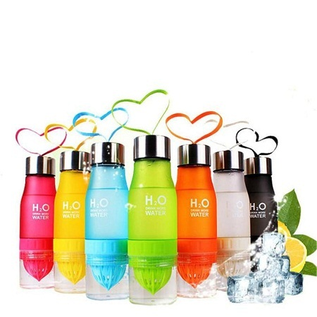 H²O Fruit Infusion Water Bottle Multicolored (600ml)