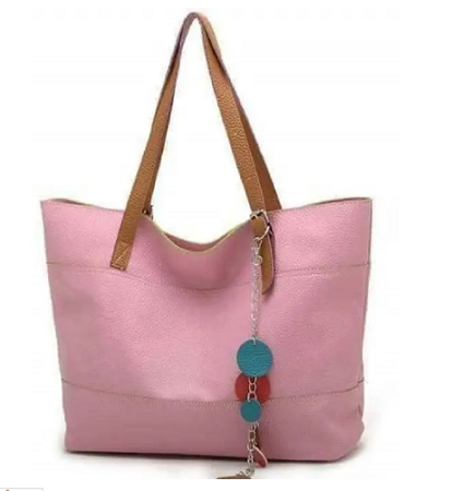Ladies Pu handbag- Large