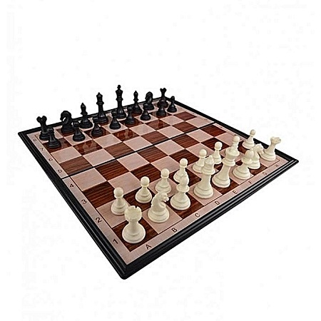 Magnetic Chess Game black