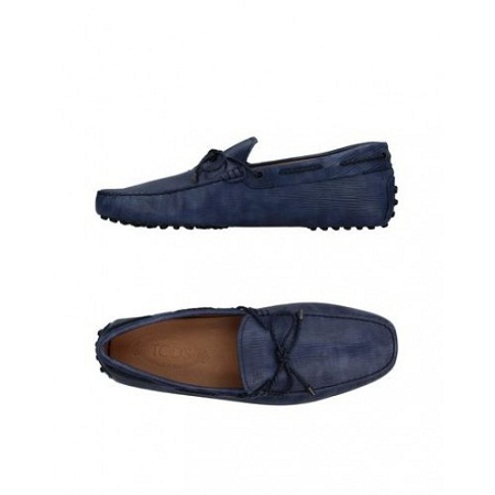 Tod's loafers- Blue