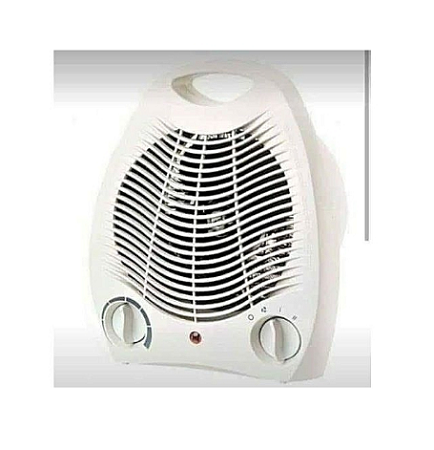 Electric Quartz Room Heater - Silver white