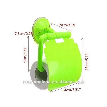 Tissue Roll Holder green small